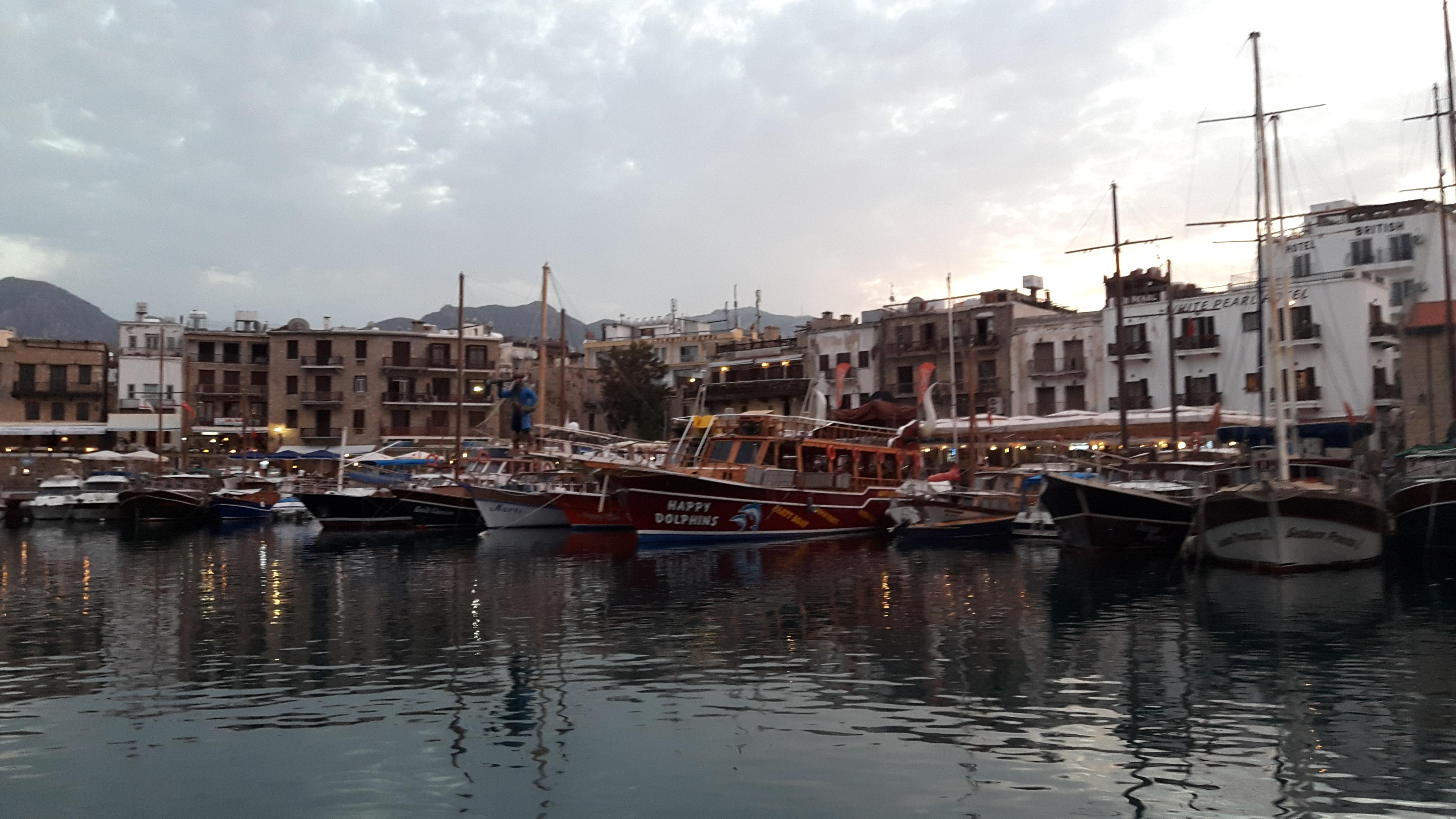 Kyrenia Harbour front