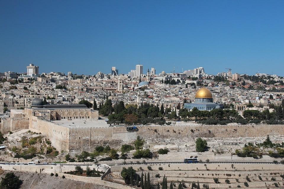 Mount of Olives In Jerusalem, Israel