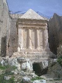 Kidron Valley Burial Tomb