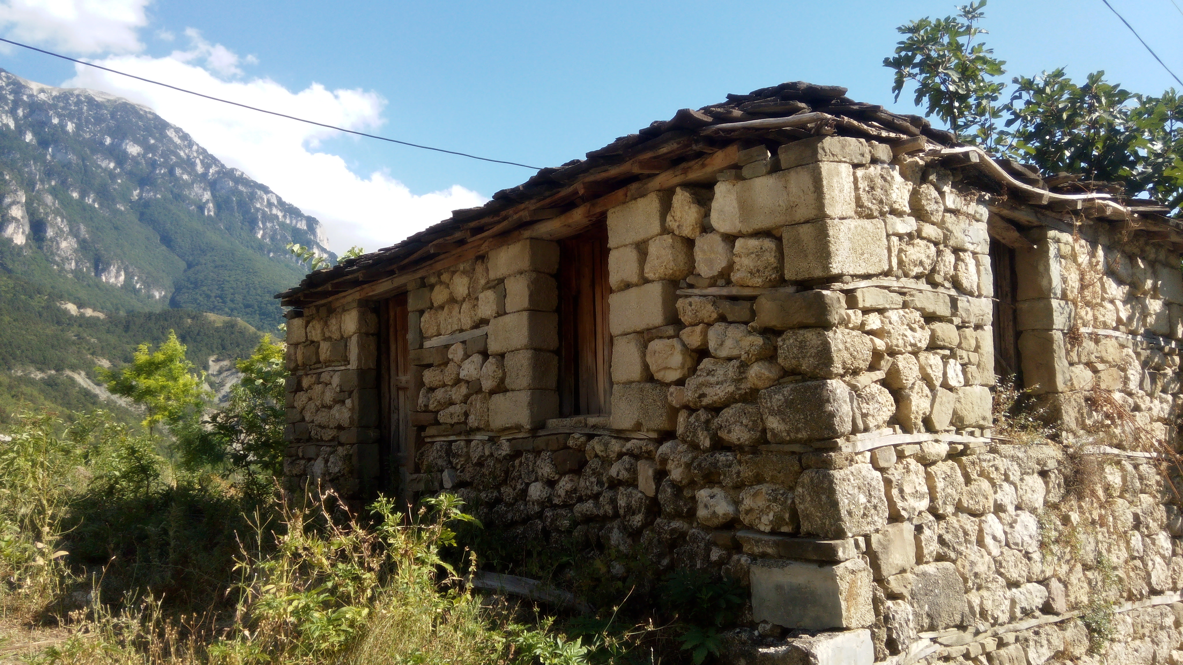 Live in an authentic Albanian village