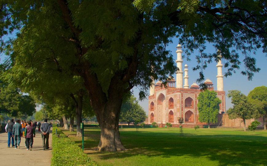 Akbar's Tomb in Sikandra