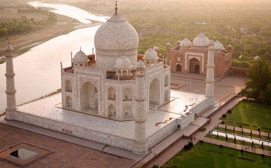 Witness Taj Mahal
