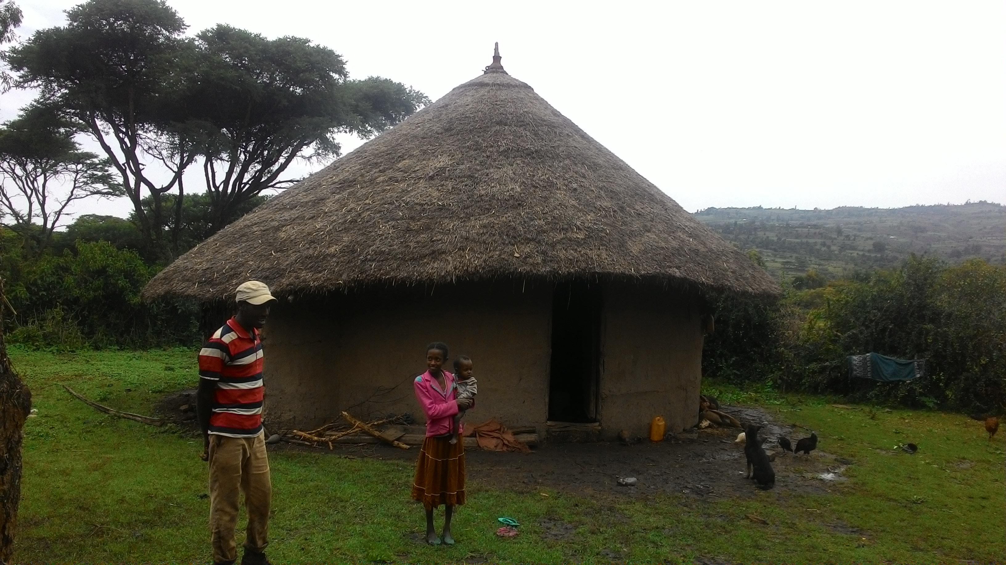 Village of the Oromo People
