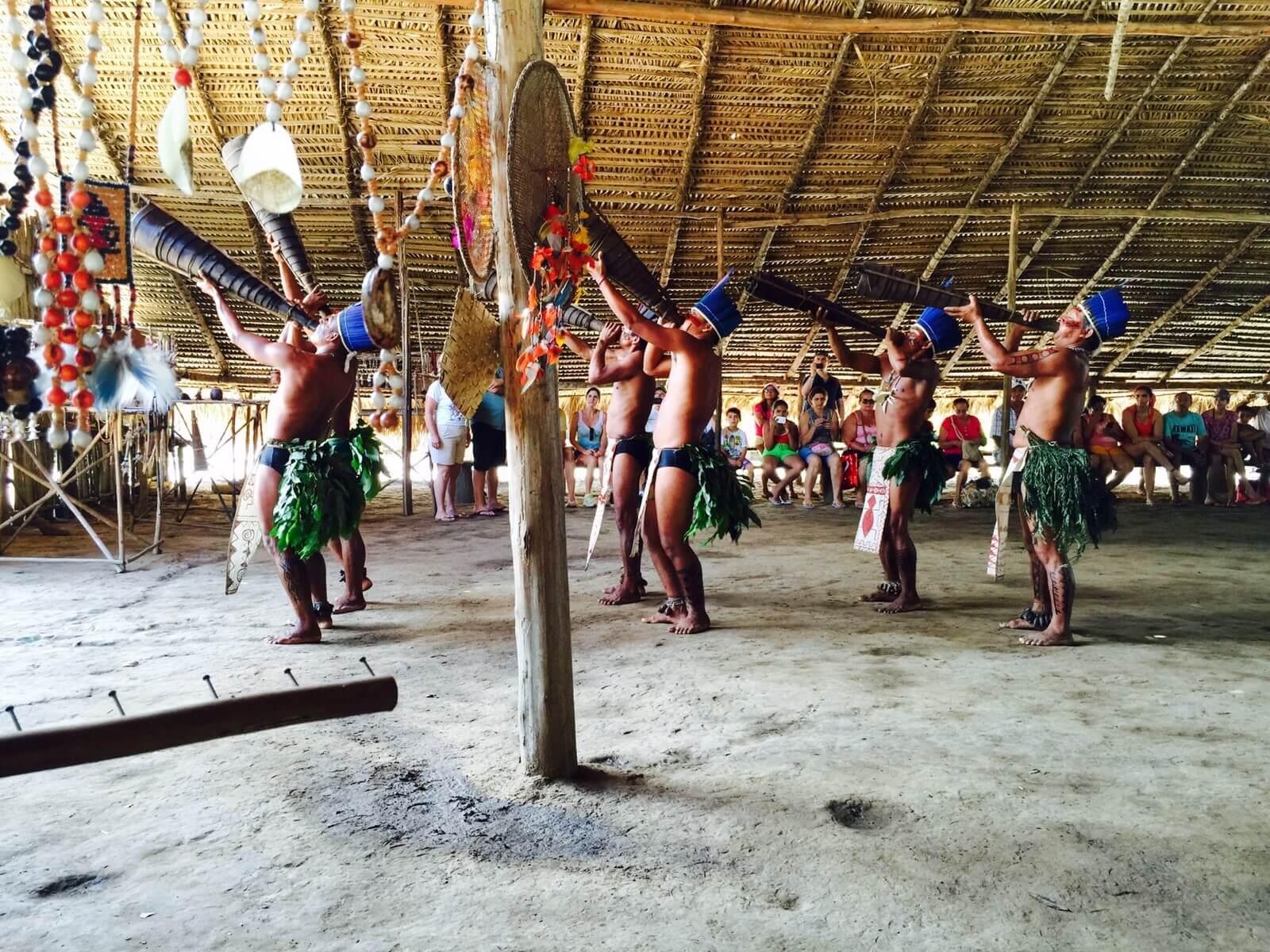 Traditional tribal dance