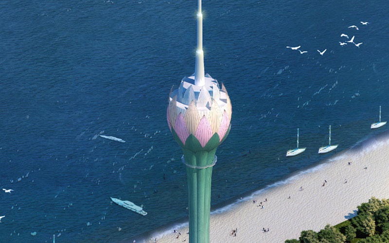 Lotus Tower, Colombo
