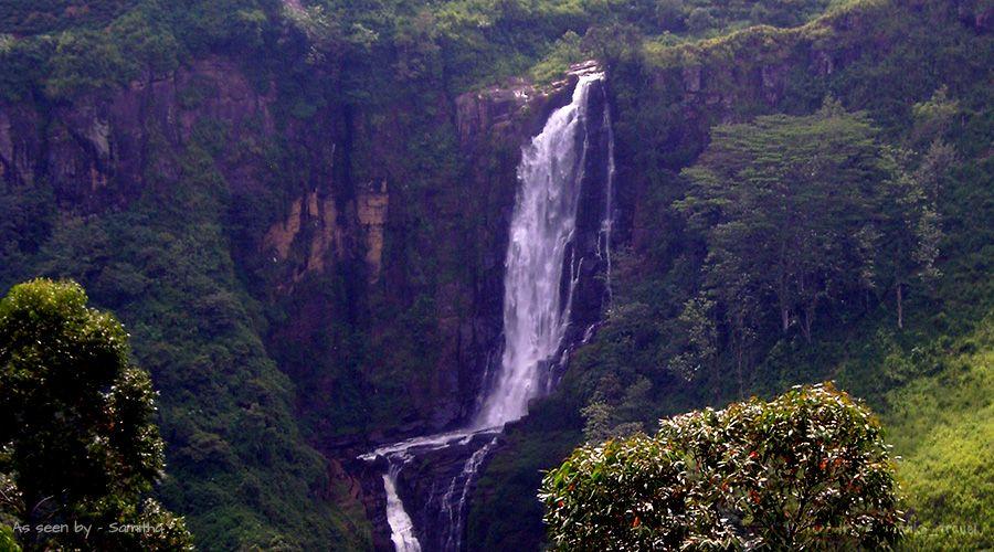 A view of Devon Falls