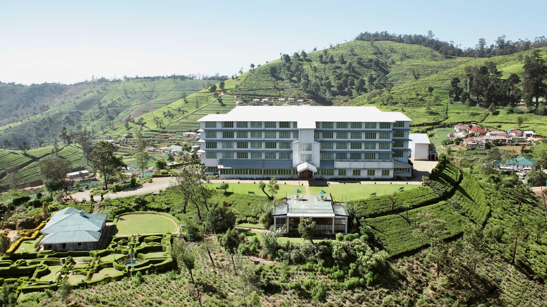 The tea factory in Nuwara Eliya