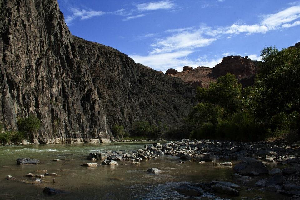 The Charyn Canyon