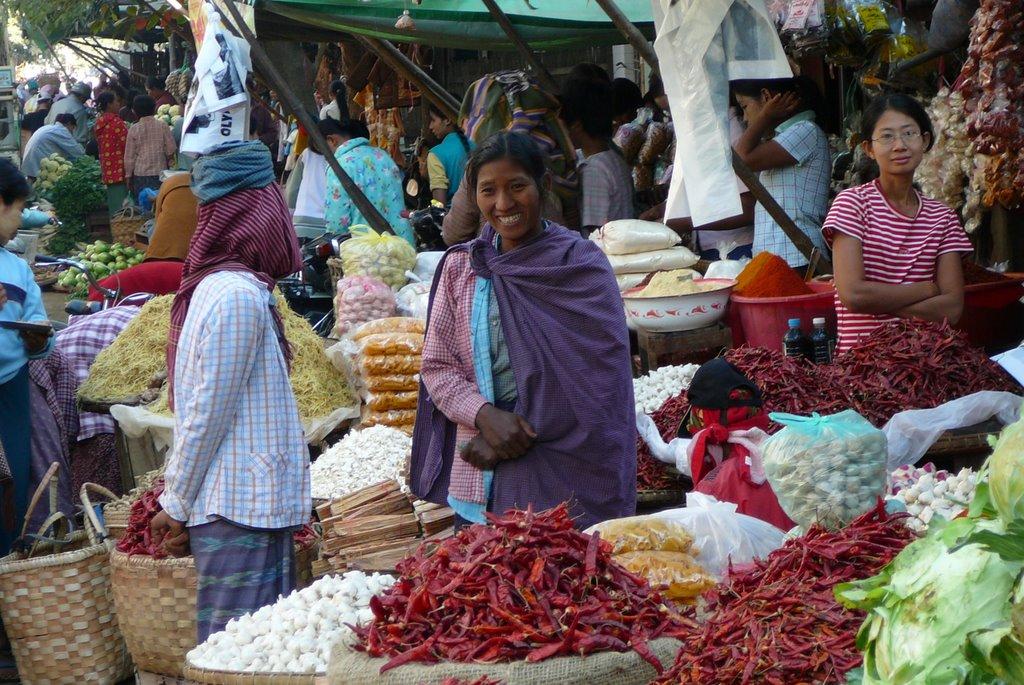 Colorful Local Market