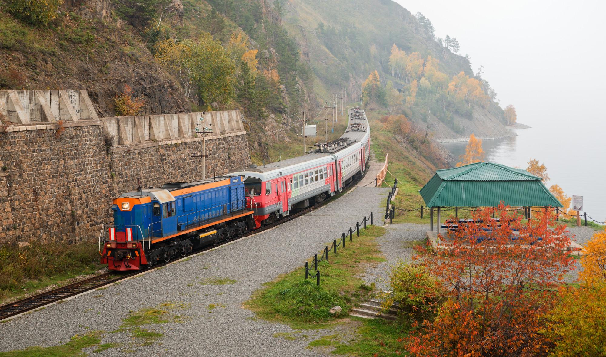 Circum-Baikal Rail ride