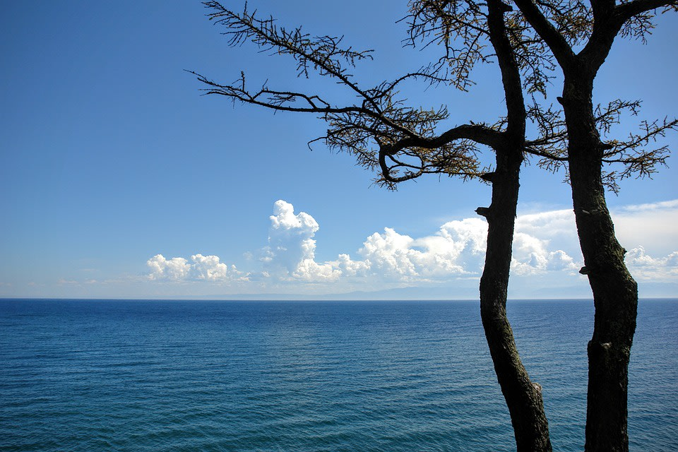 View of the Baikal Lake