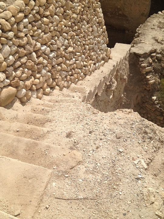 Ruins from Jericho