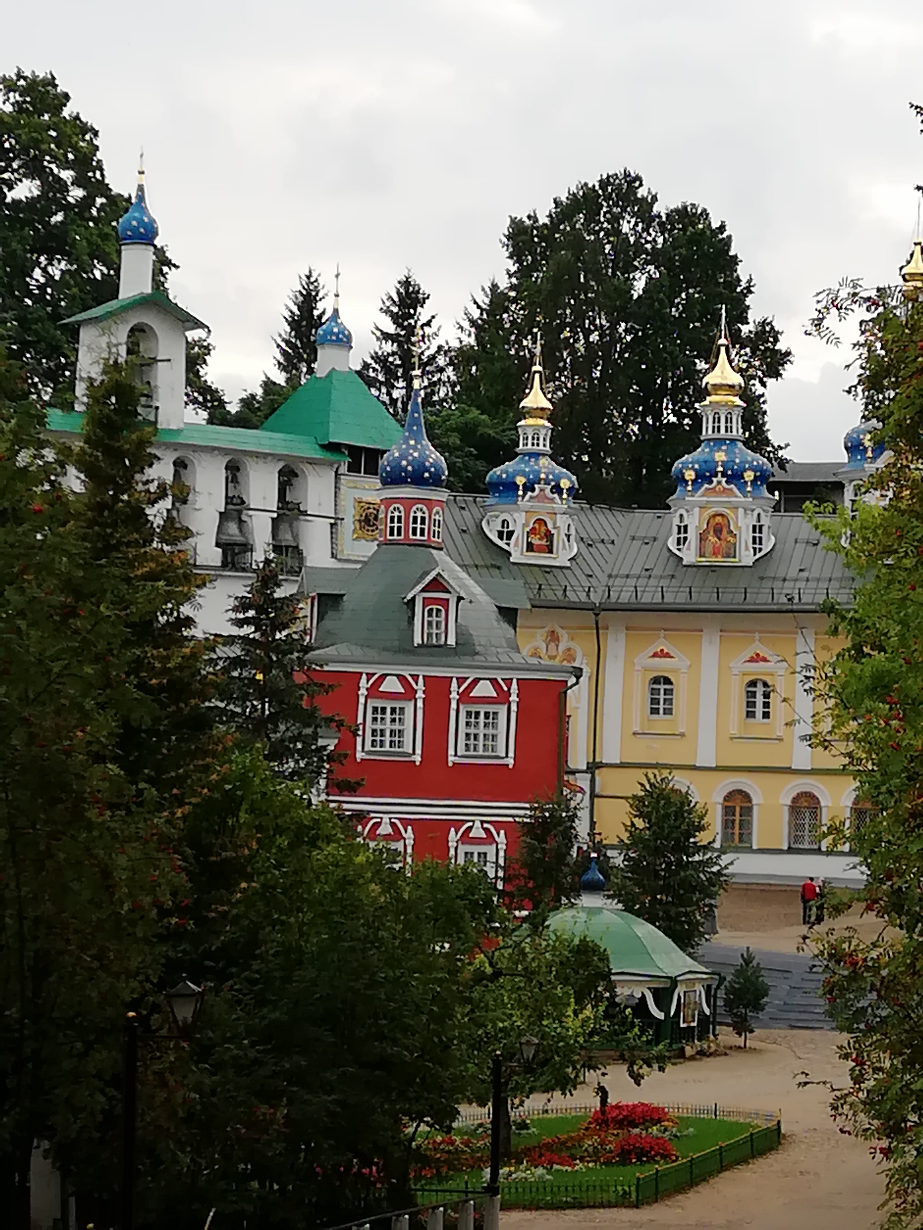 Inside Pechory Assumption monastery