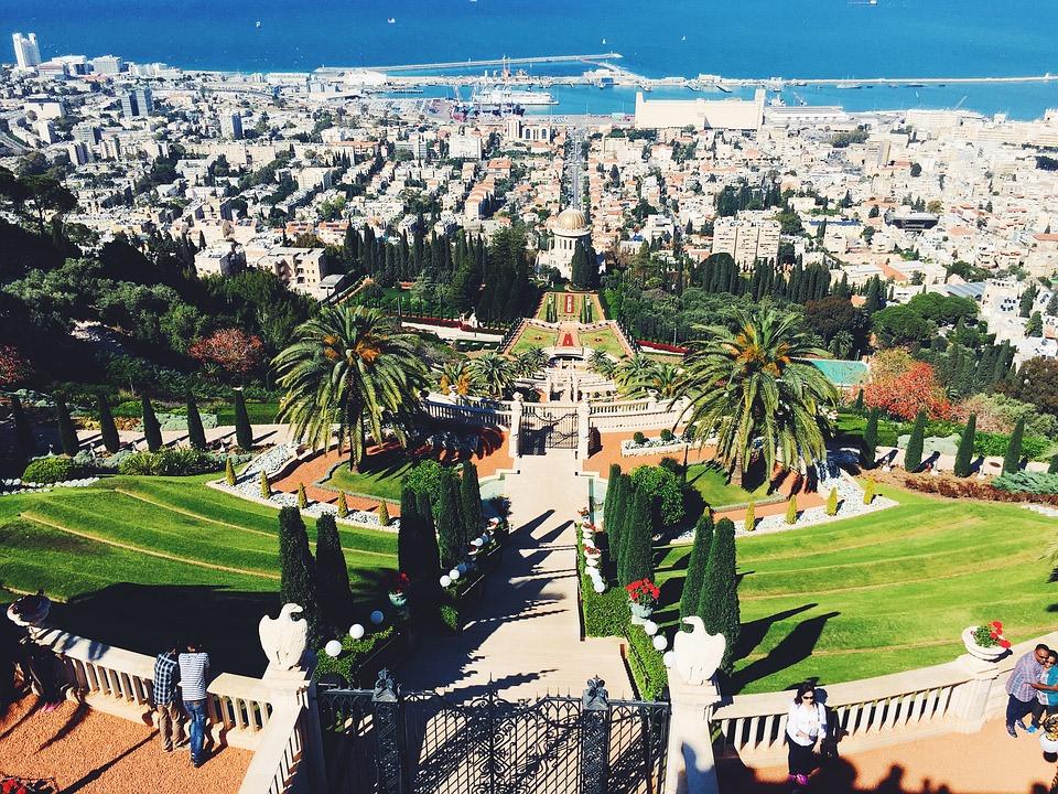 Hanging Gardens of Haifa, Israel