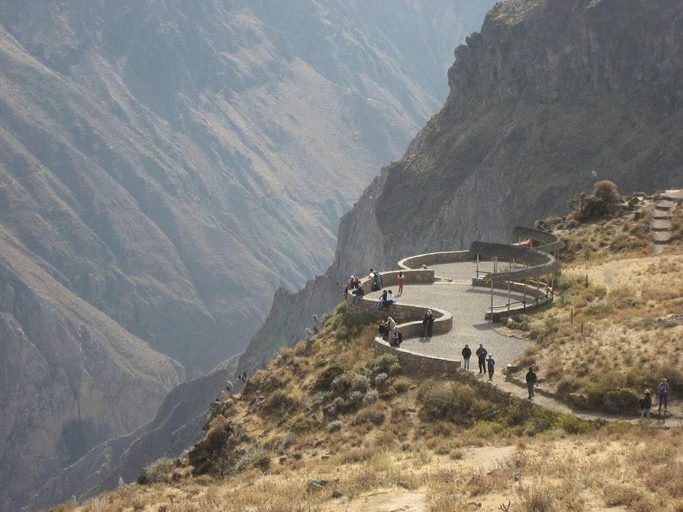 View of Colca Canyon