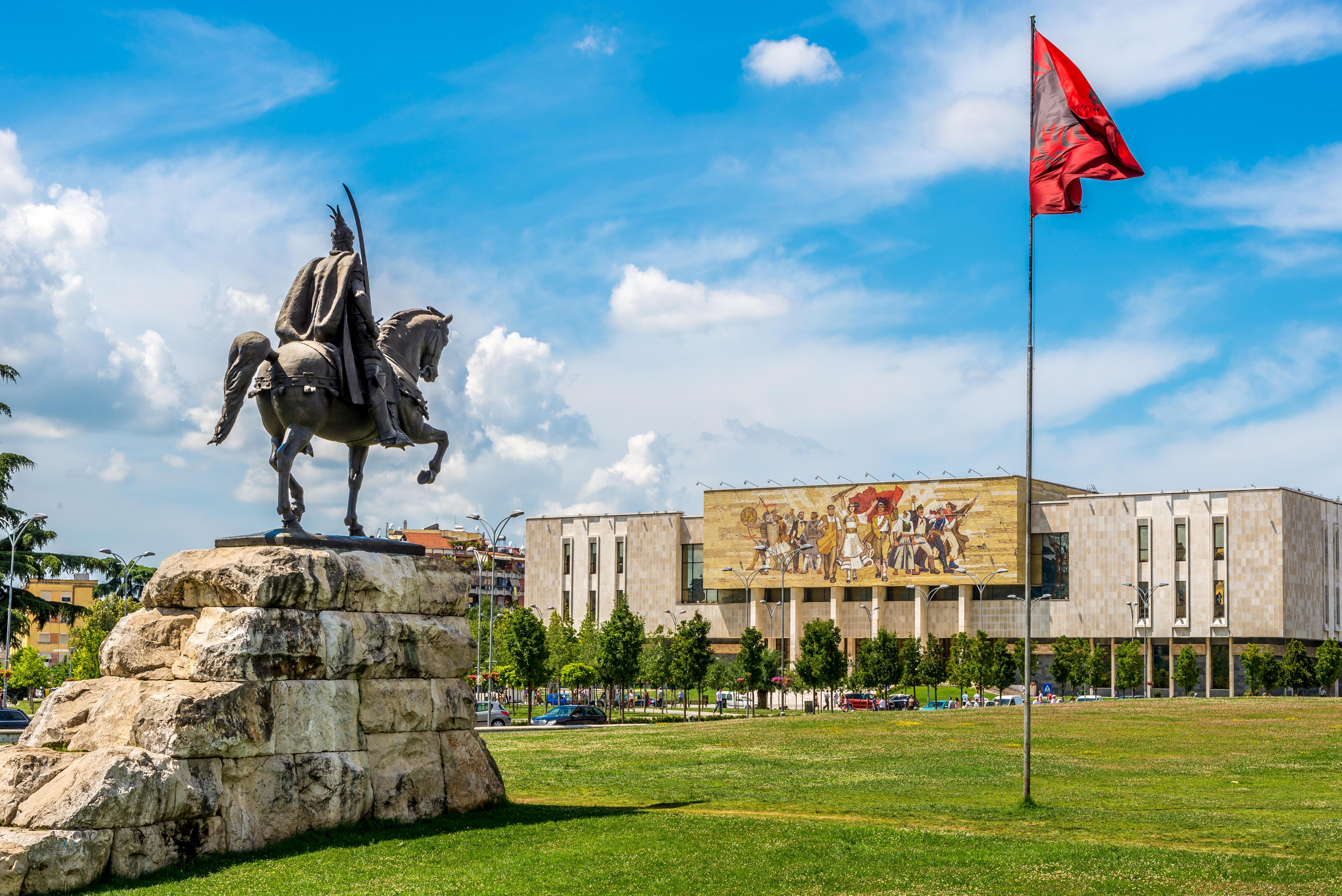 National History Museum In Tirana, Albania