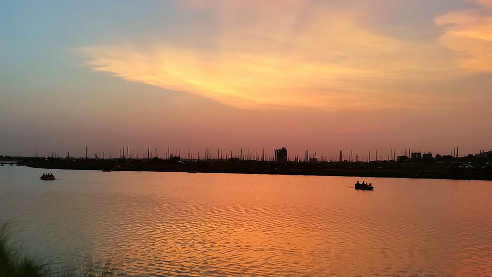 Sunset View of the River