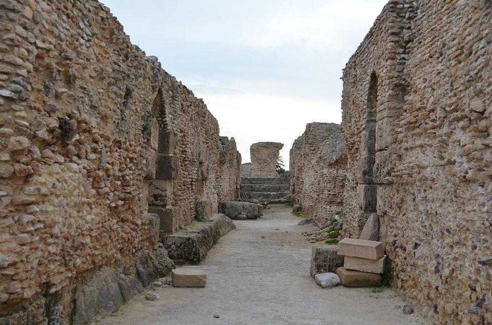 Roman ruins of Carthage