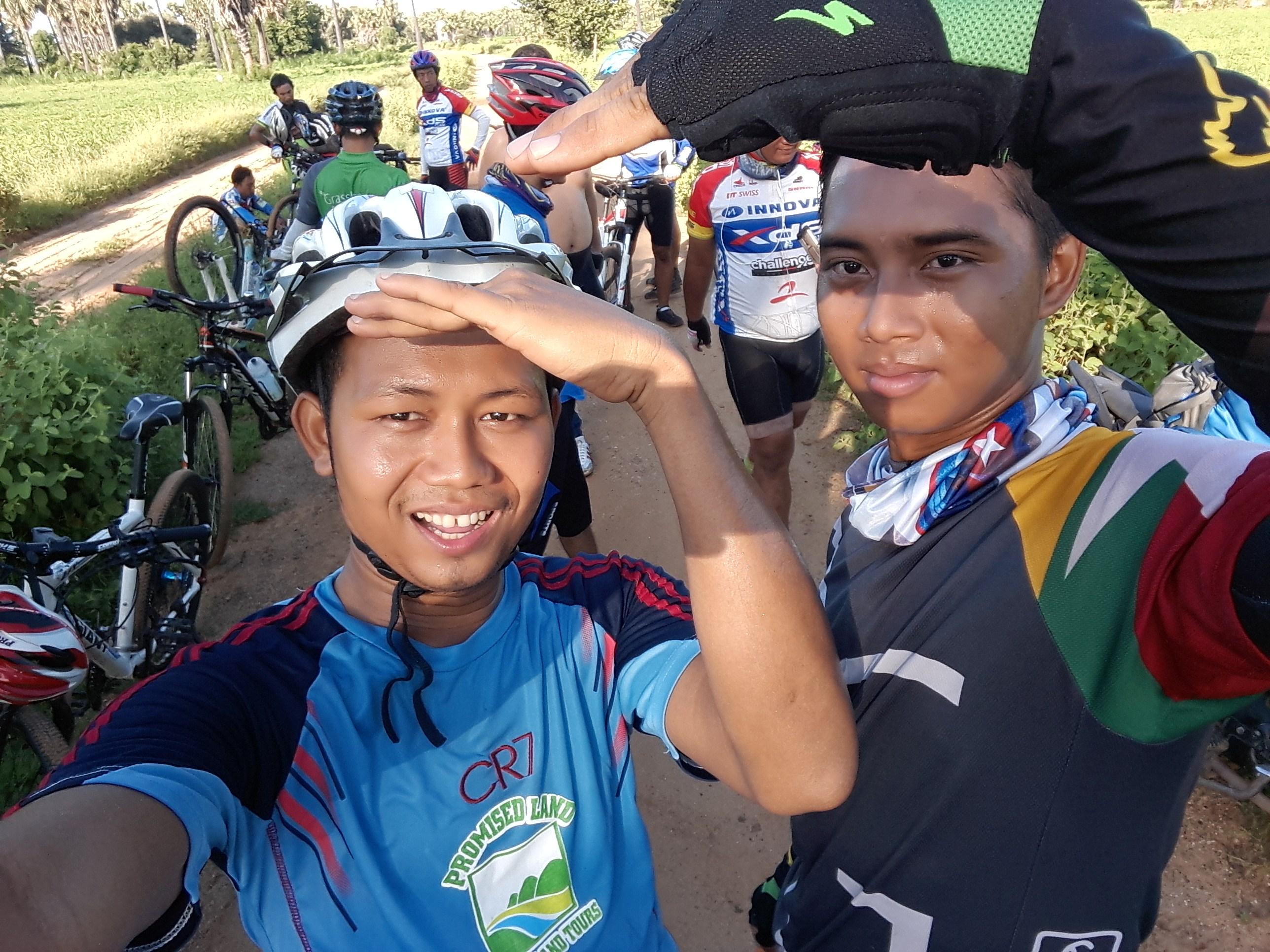 Relish the experience of mountain biking