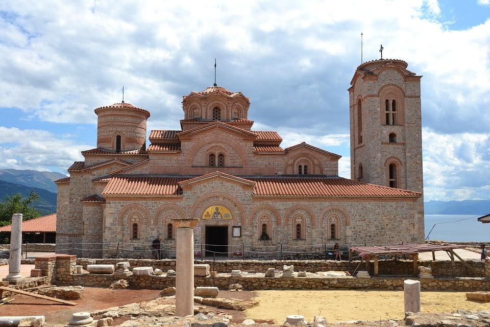 Church of Saints Clement and Panteleimon at Plaošnik