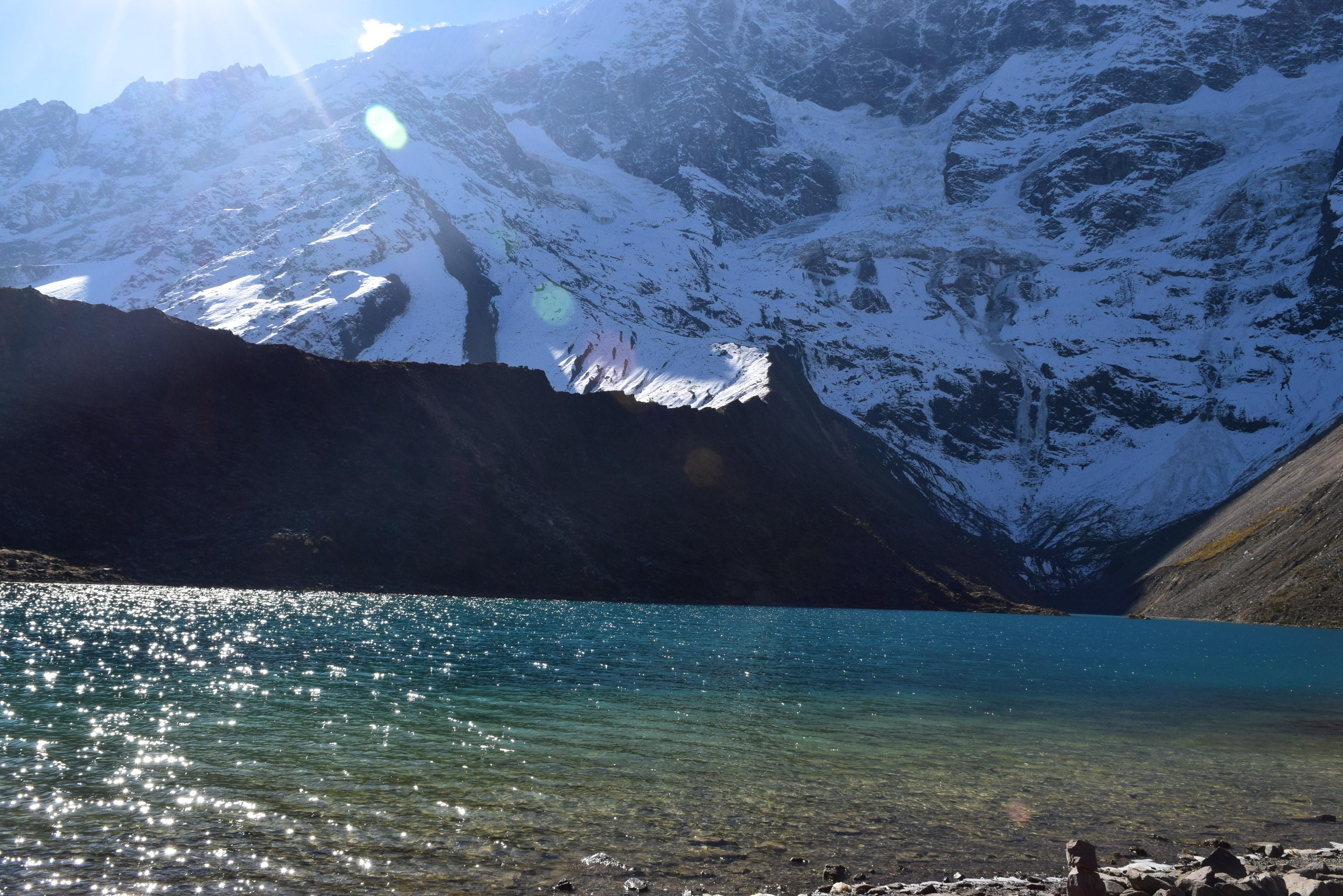 Enjoy splendid views of the Humantay lake