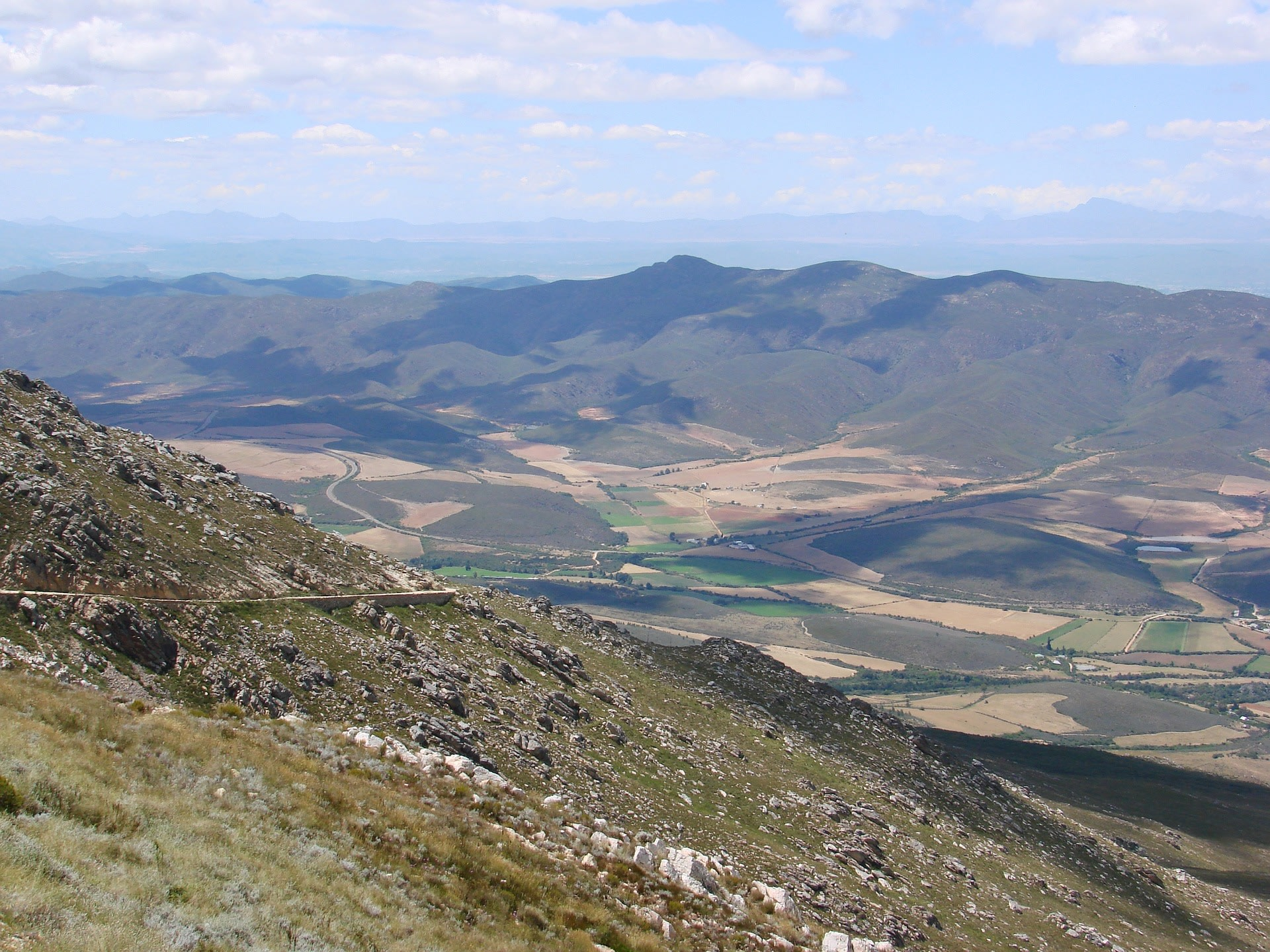 Swartberg Mountain Range