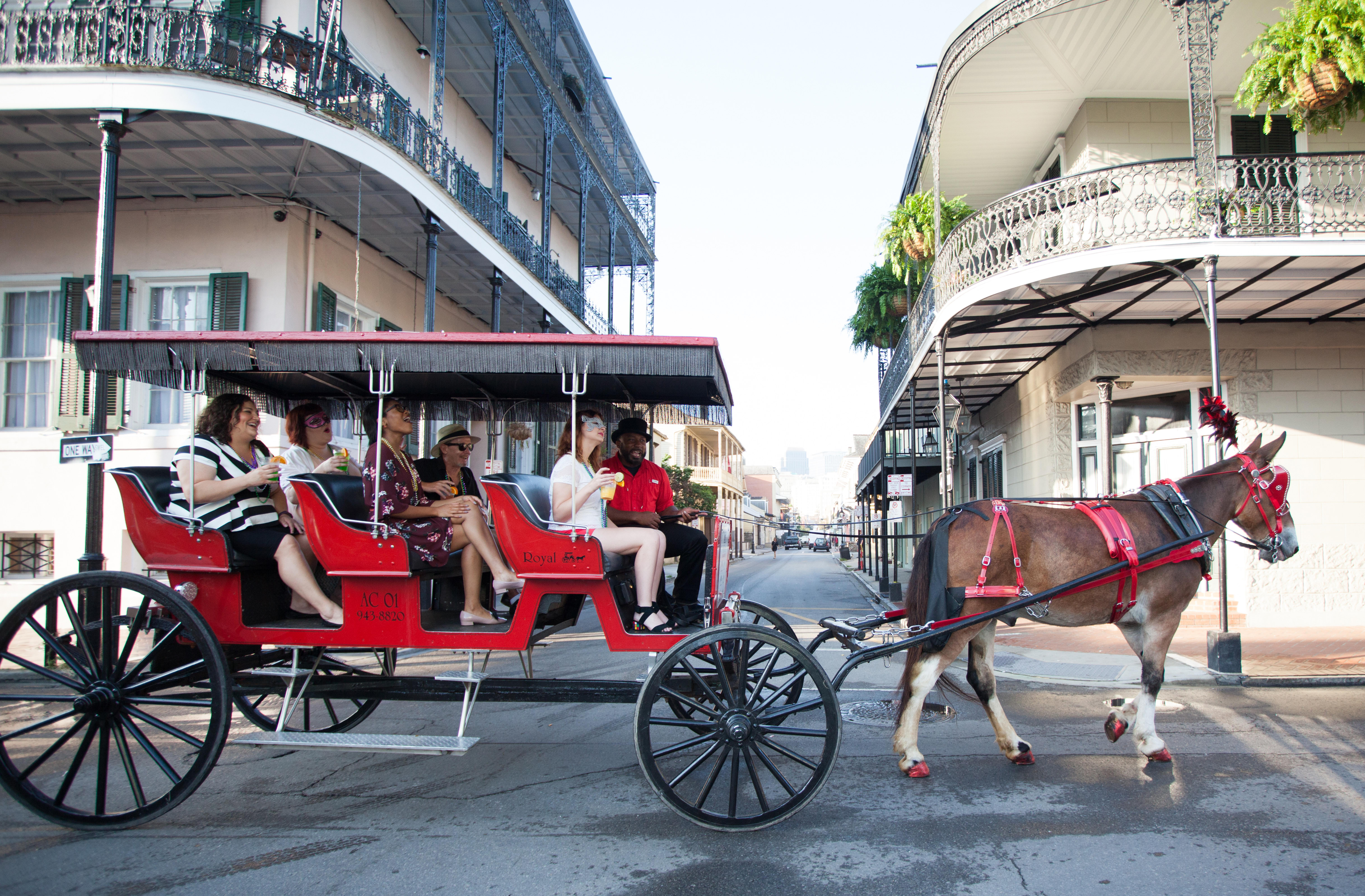 Red French Carriage