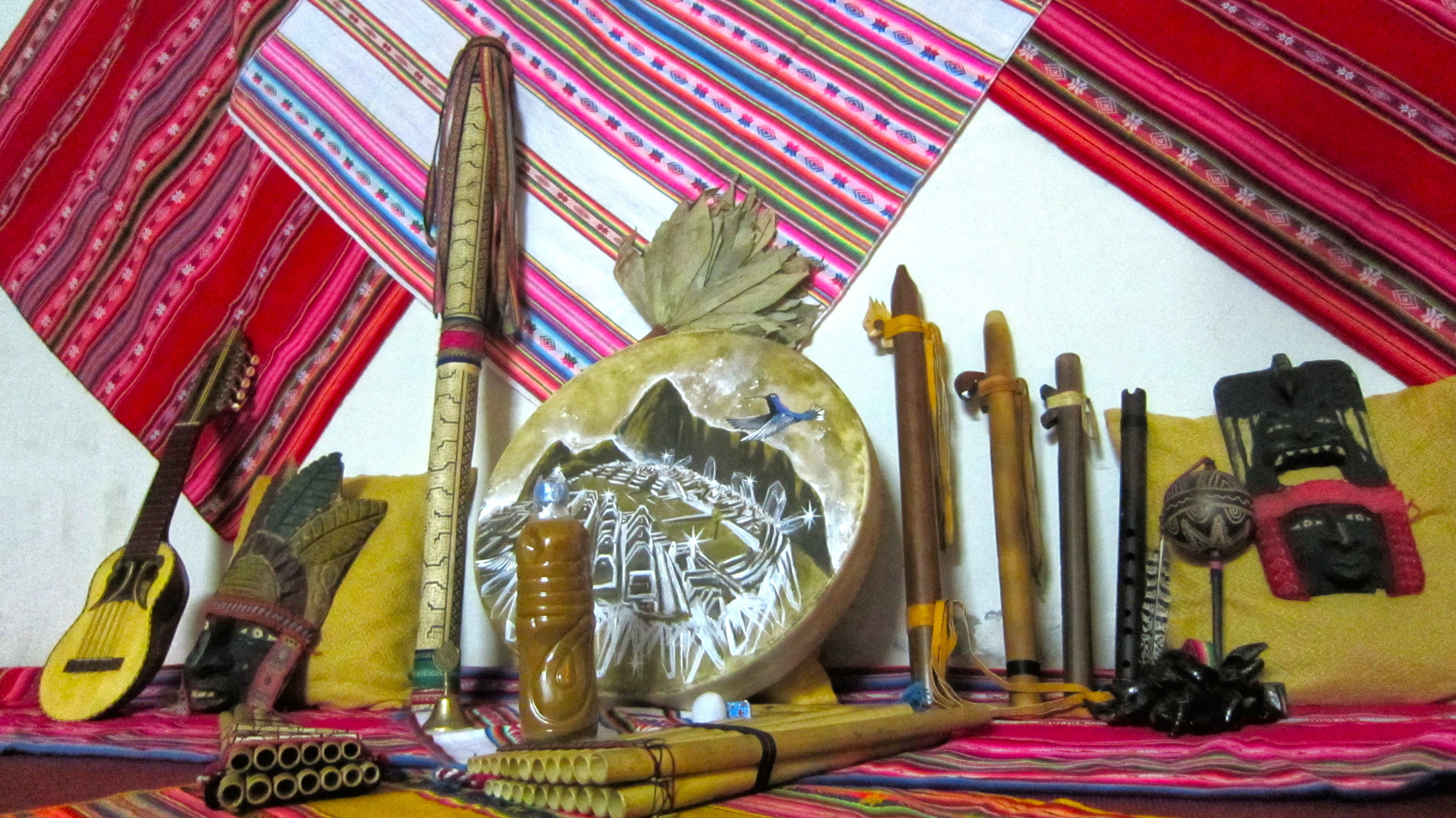 Ayahuasca Ceremony Implements