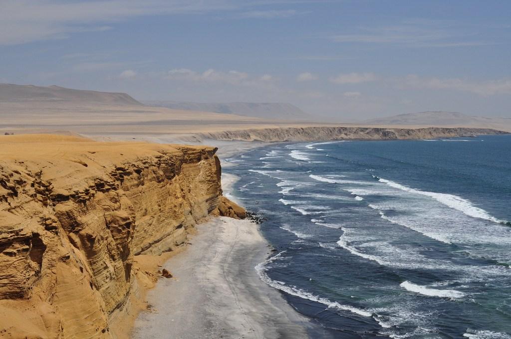 Where the ocean met the desert