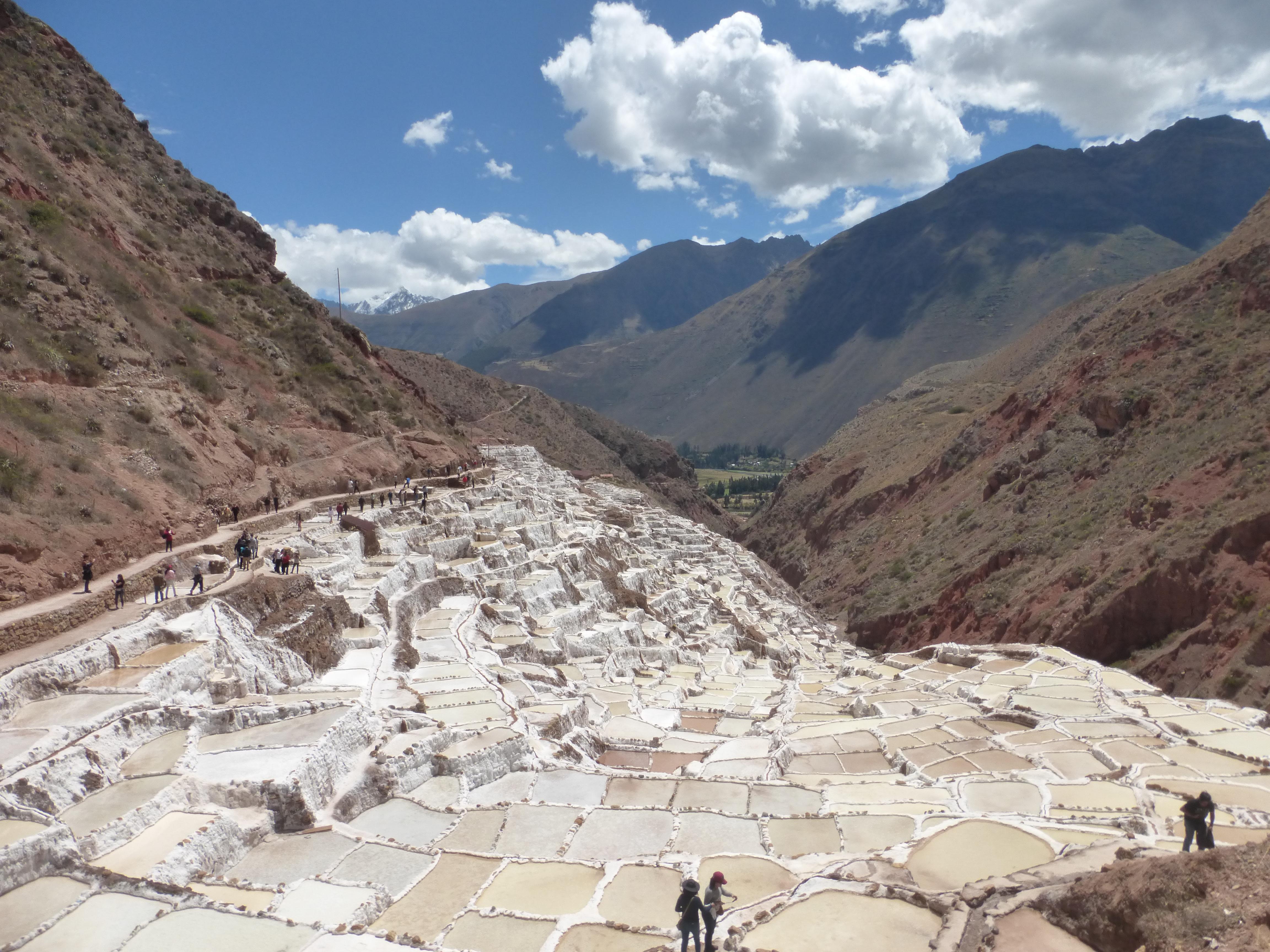 Visit the Salt pans of Maras