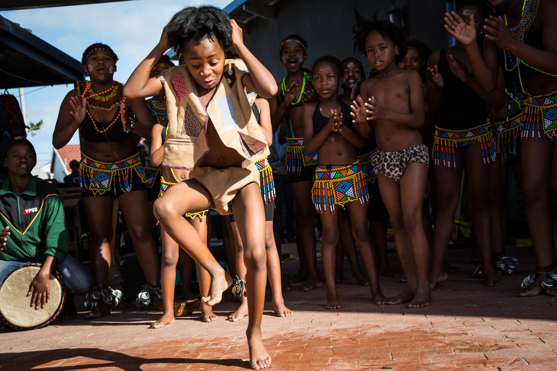 Children At The Khayelitsha Township