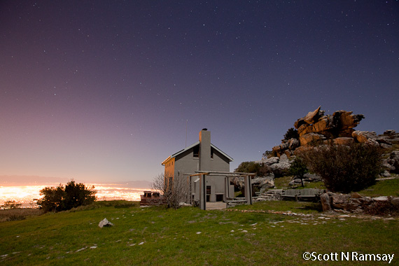 Cottage on Table Mountain top