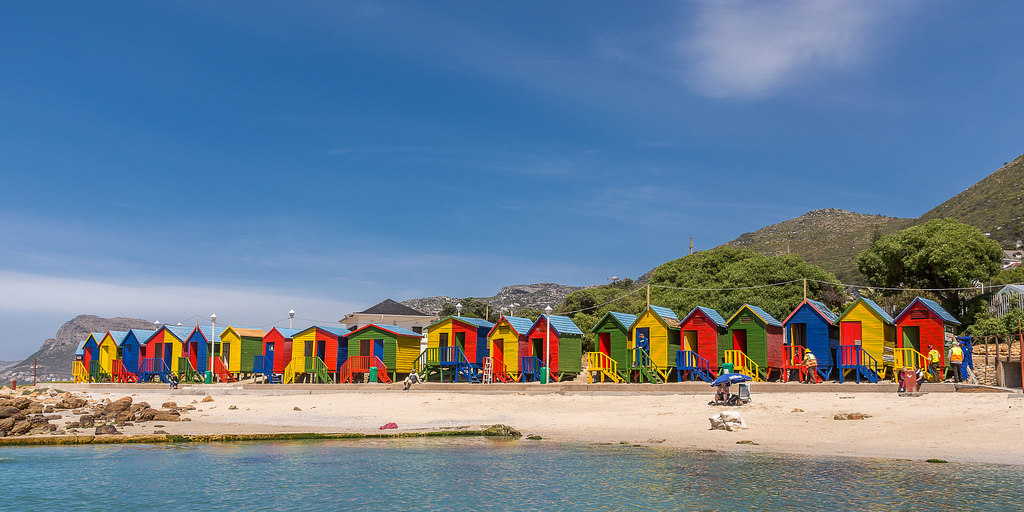 St James beach changing rooms