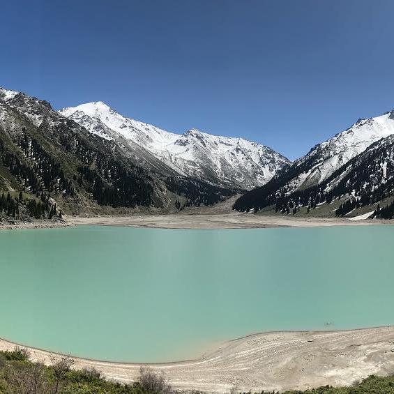 The Big Almaty Lake