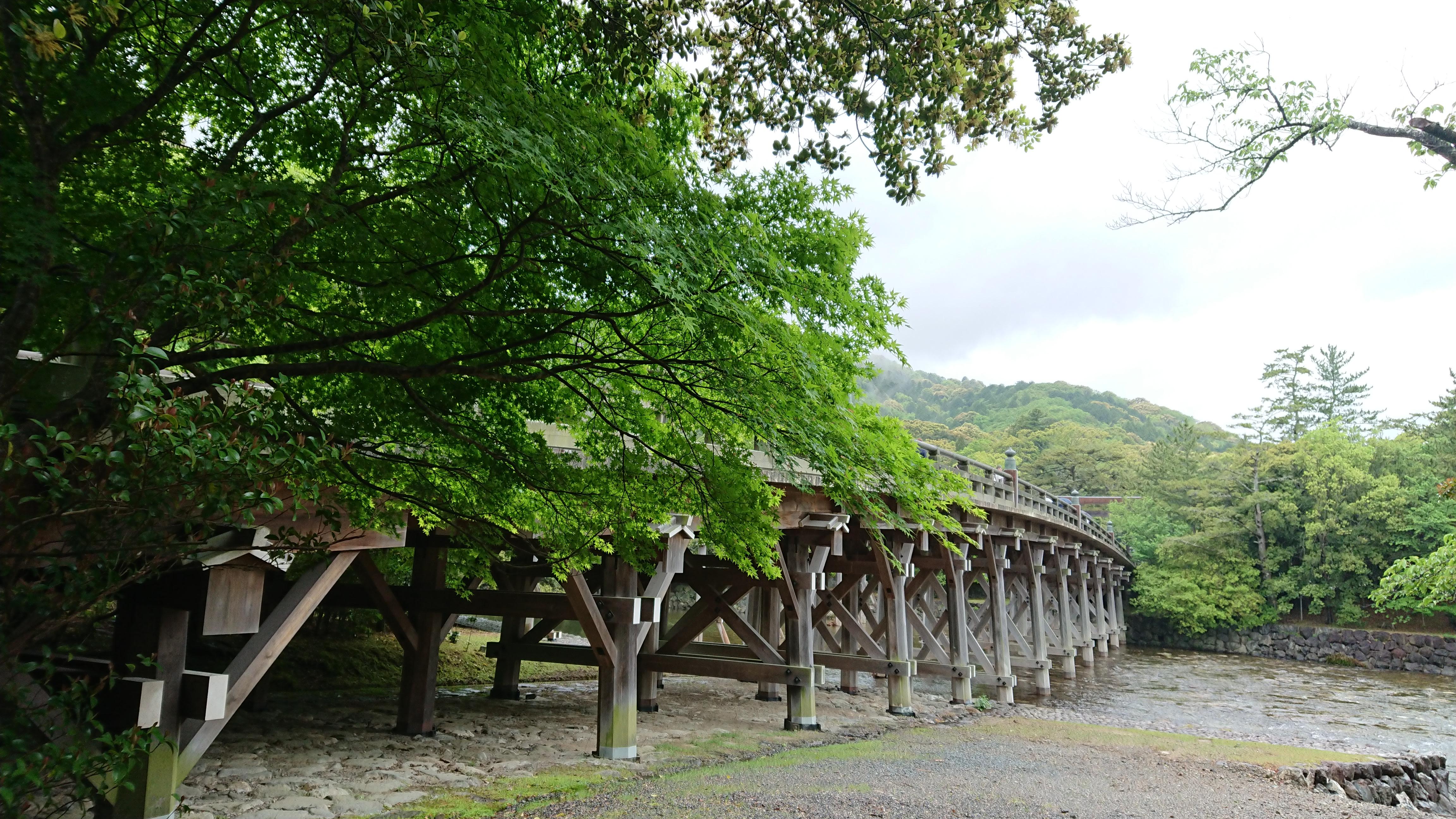 A view of Ise bridge