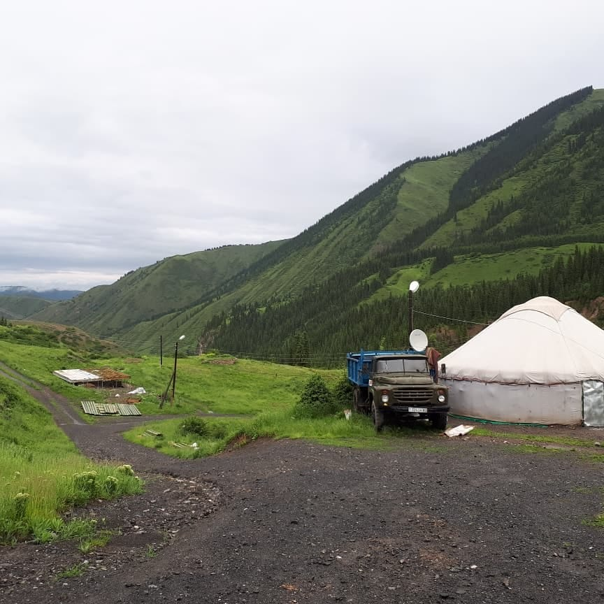Go for a Drive at North Tyan Shyan Mountains