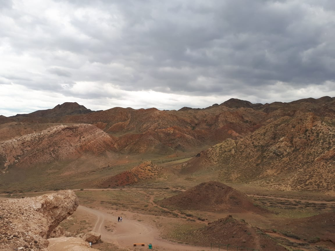 See the Red Sandstone of Charyn Canyon