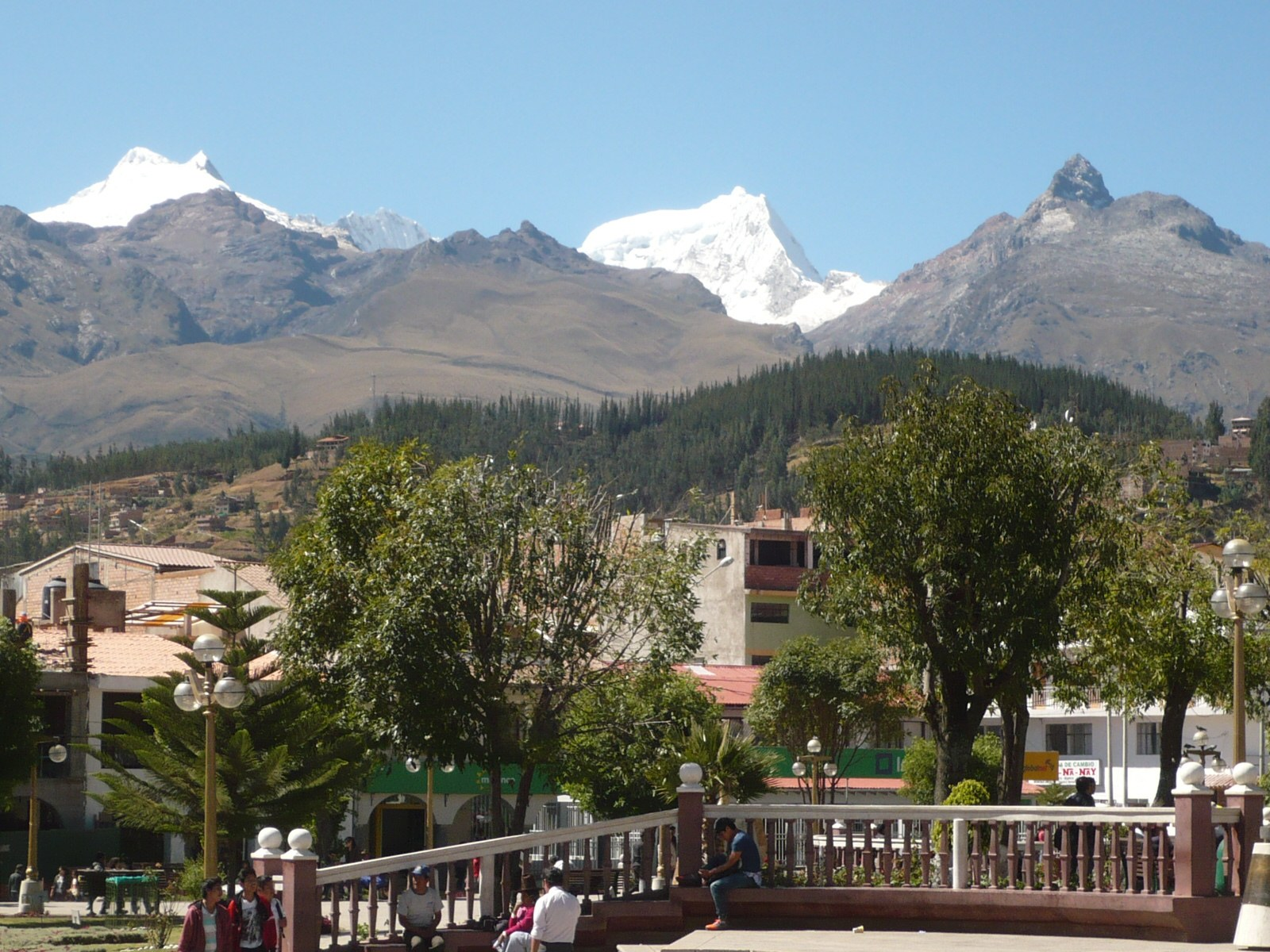 Andes Mountain View From Huaraz
