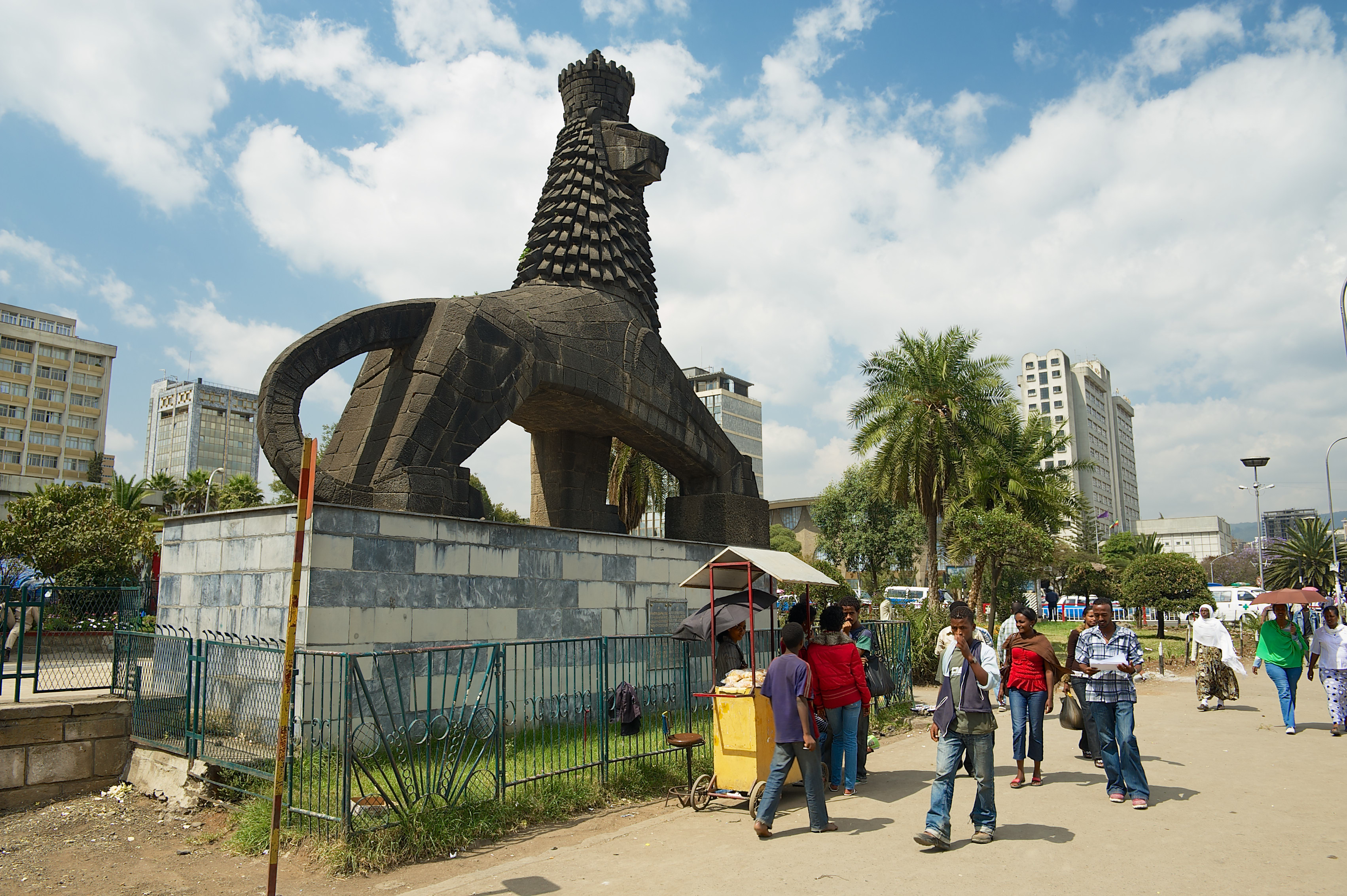 Monument to the Lion of Judah, Addis Ababa