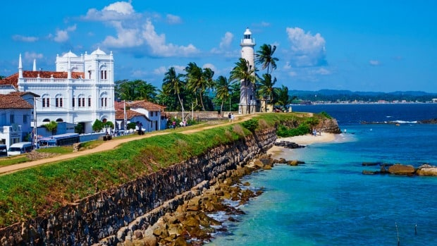 Beautiful Galle Fort
