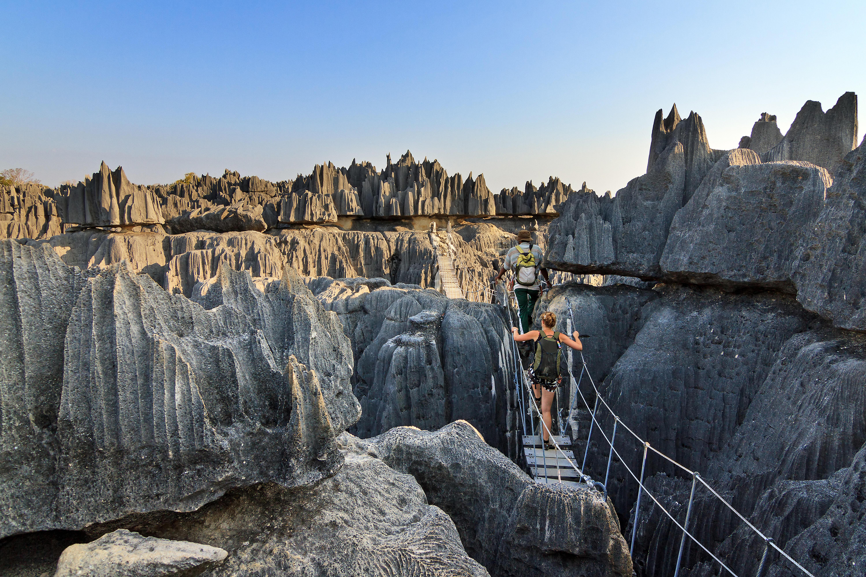Mineral Forest of Tsingy de Bemaraha National Park