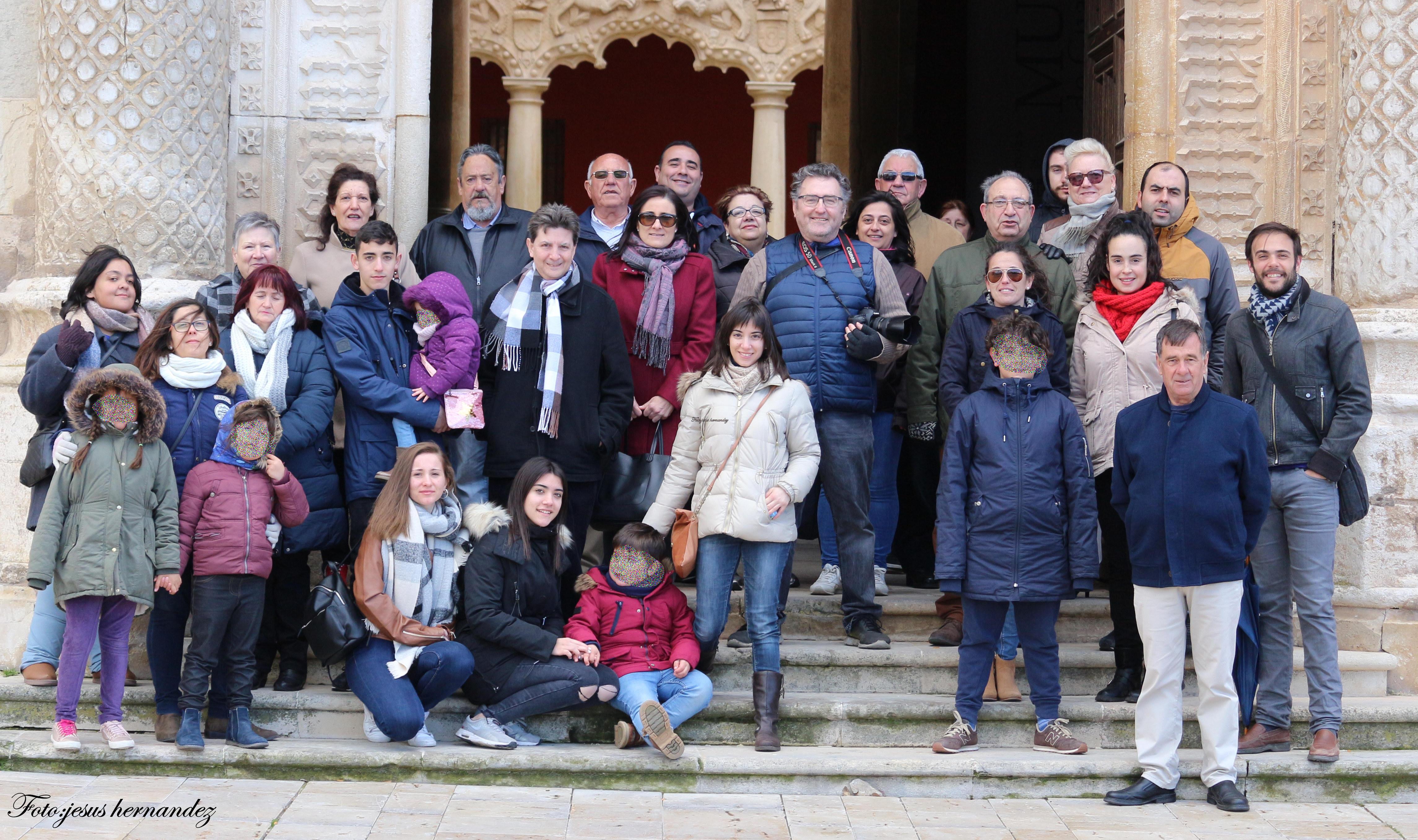Tourists at Infantado Palace