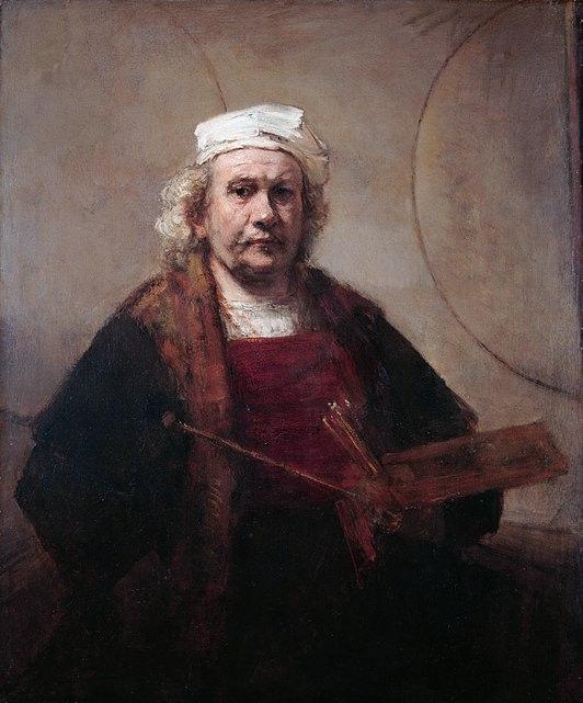 Self portrait of Rembrandt