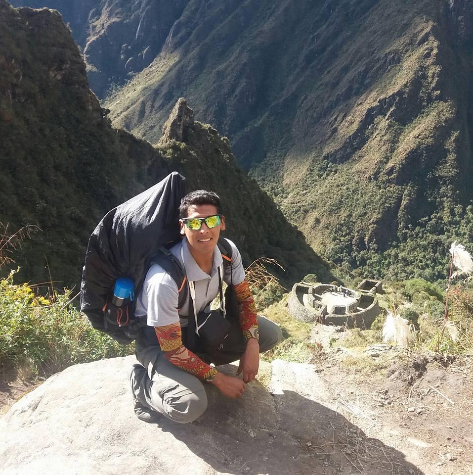 Tourists Trekking