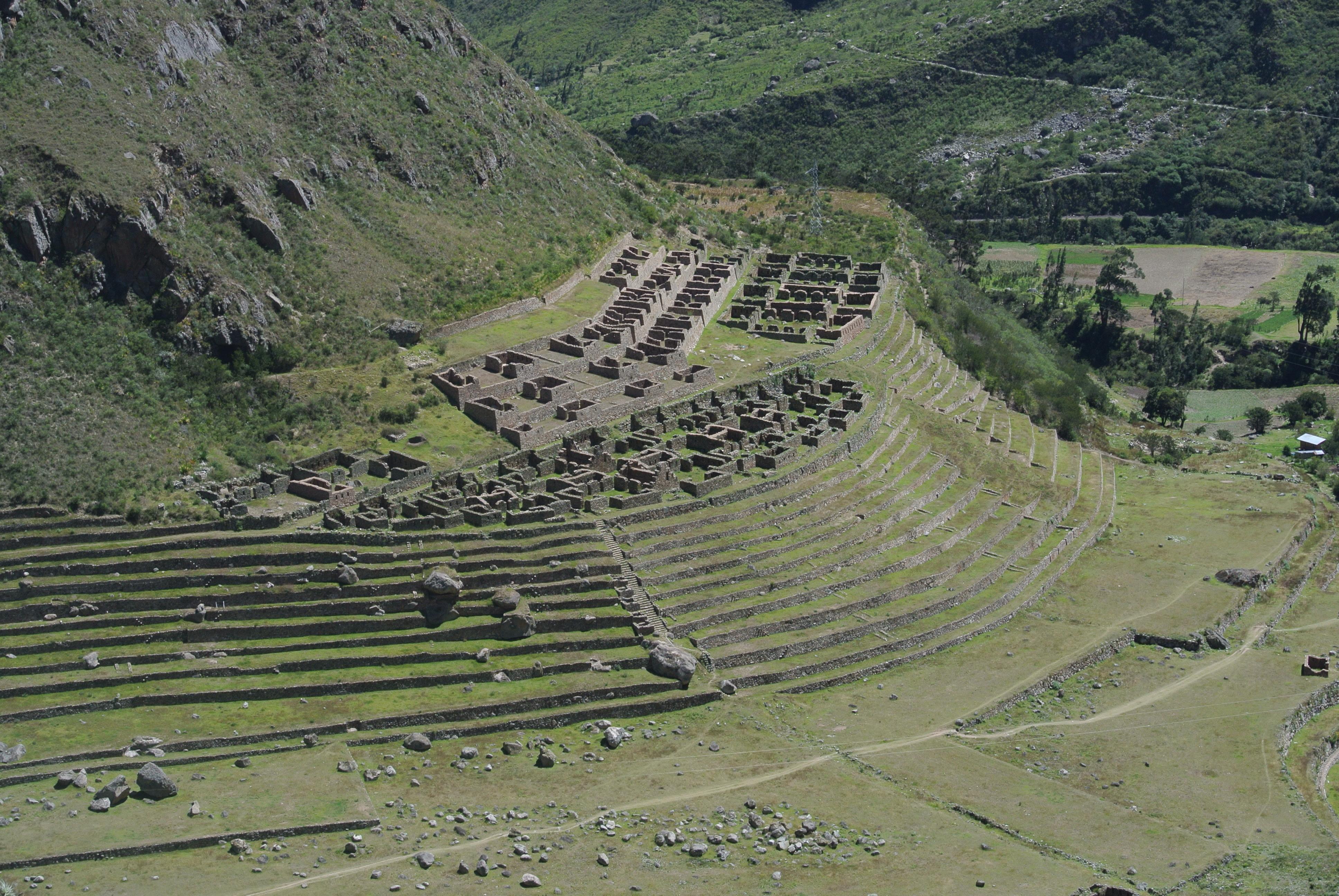 View of Machu Pichu