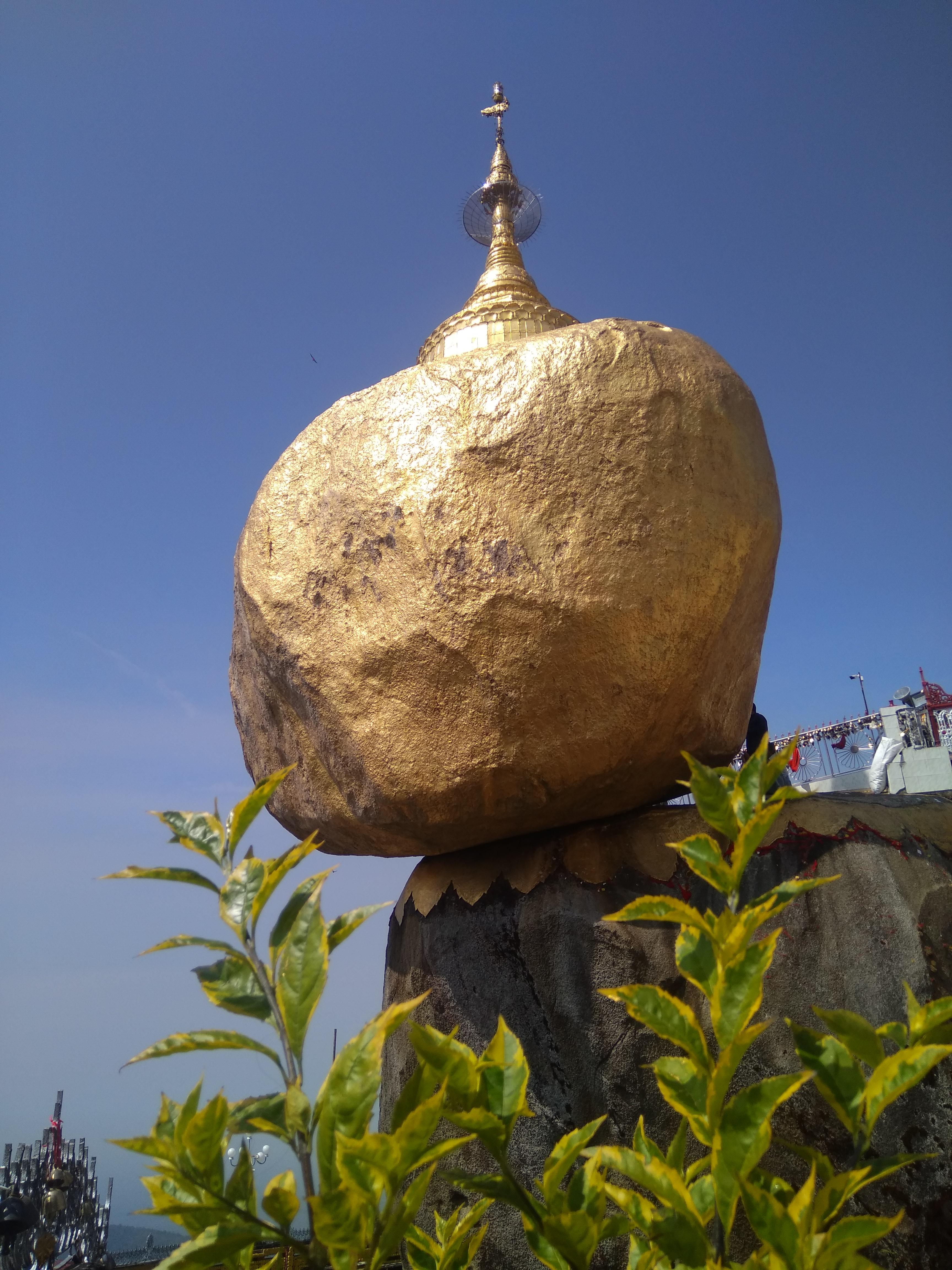 Golden Rock Pagoda