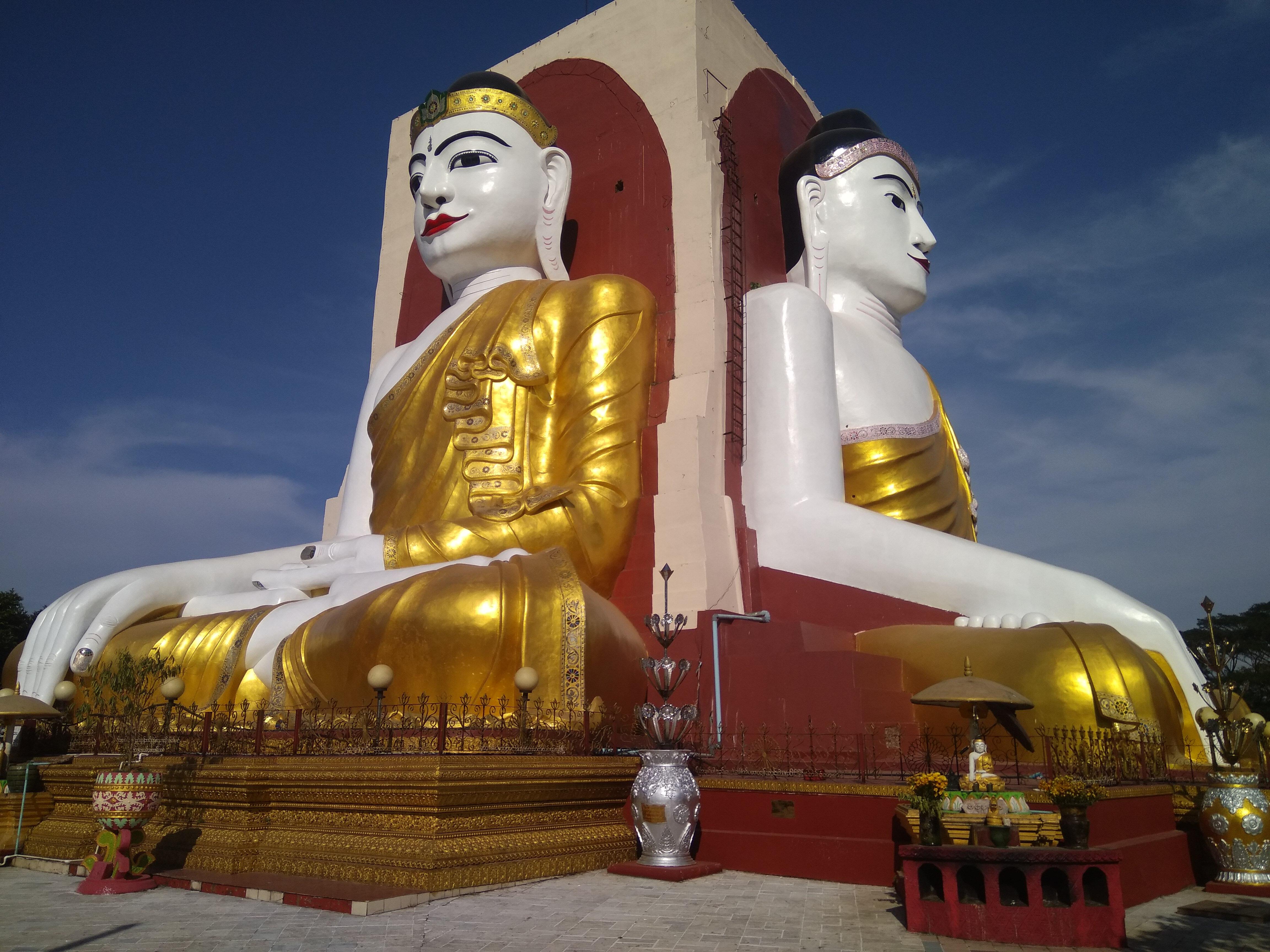 Kyaik Pun Four Sitting Buddha Images