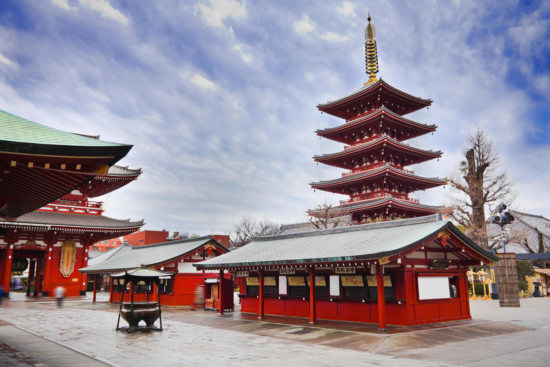 Visit the Sacred Sensoji Temple