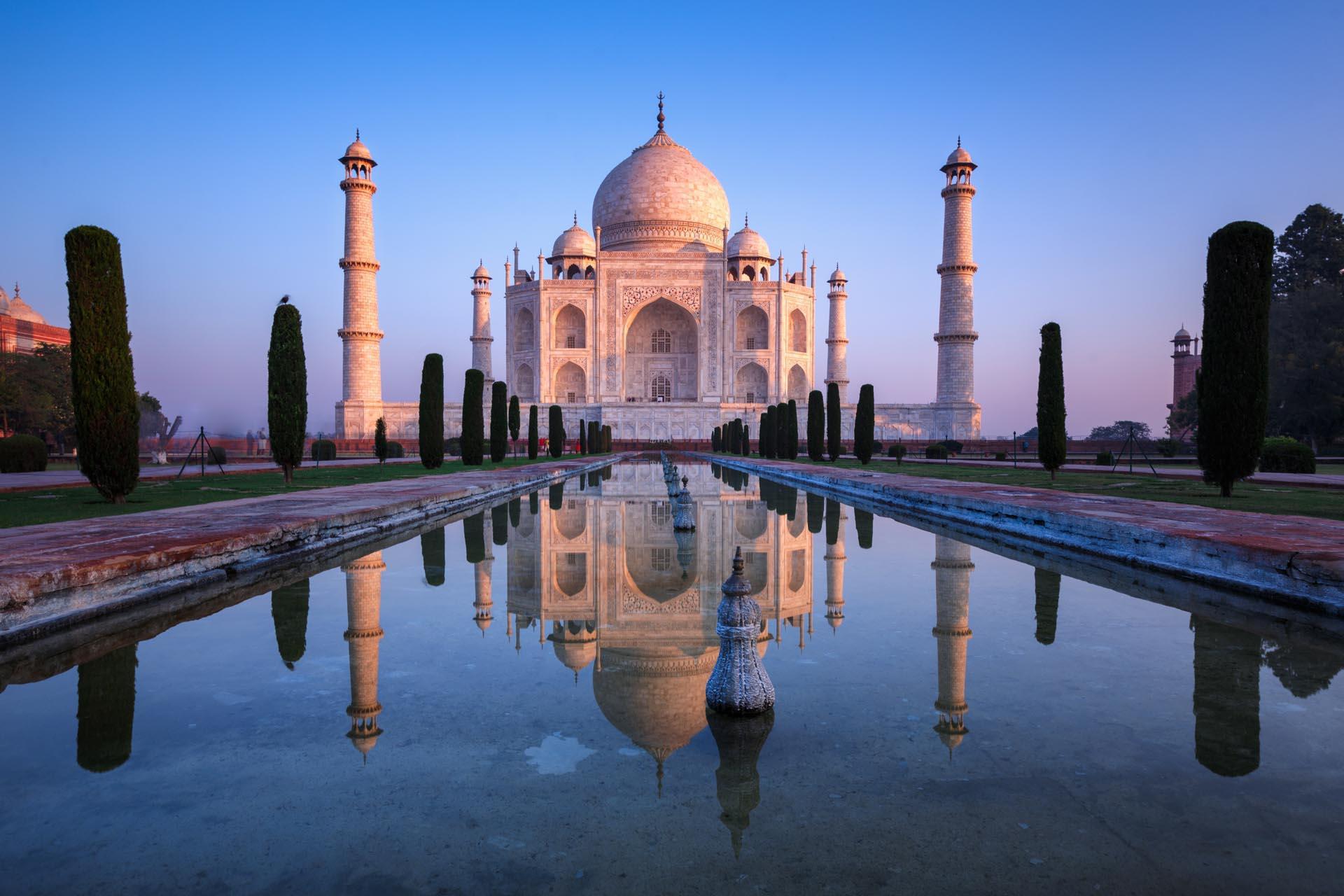 Marvel at the Taj Mahal in Agra, India