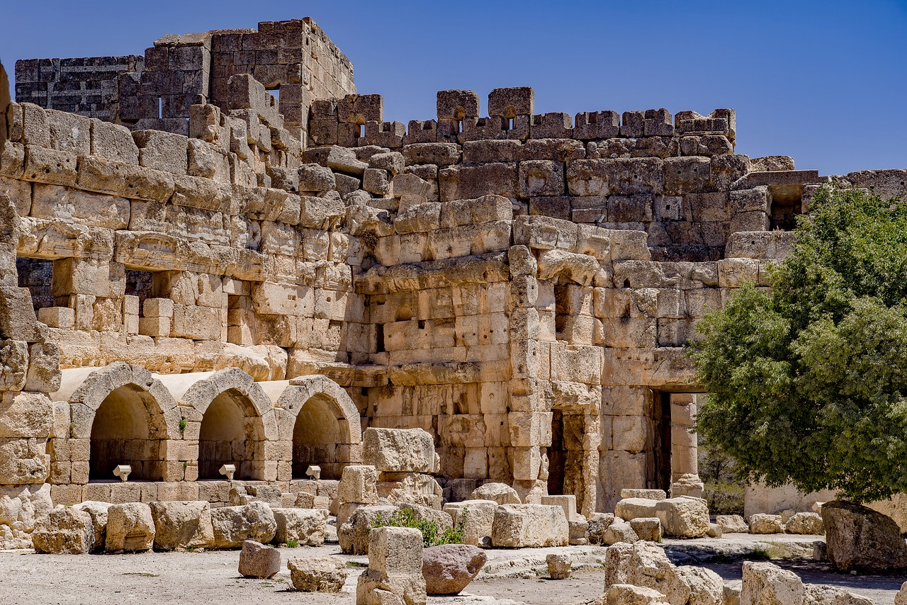 Explore the Temple Complex in Baalbek